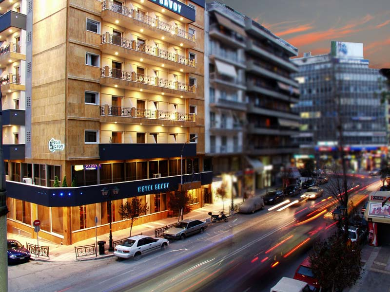 Savoy Hotel, Athens Hotels